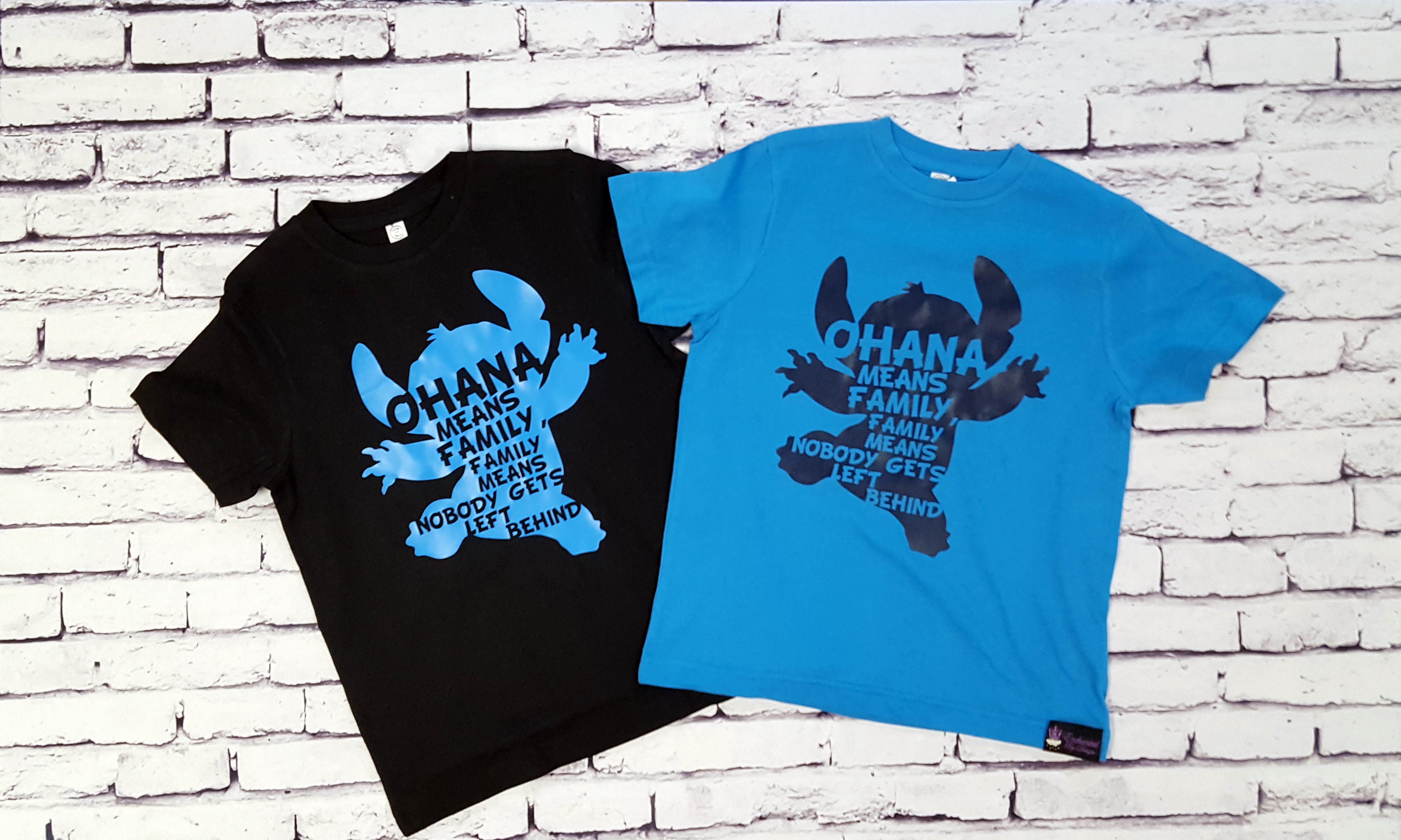 84550370148 Ohana Means Family Tee Shirt For The Whole Family - Enchanted By Design